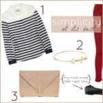 Sunday's Cravings: simple stripes.