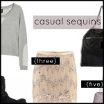 Sunday's Cravings – casual sequins.