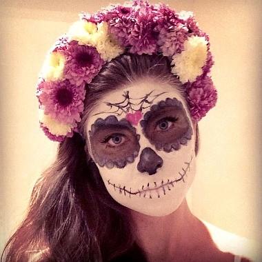 halloween dia de los muertos