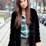 OUTFIT: faux fur jacket & biker boots