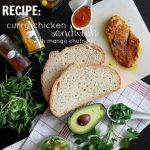RECIPE: curry chicken sandwich with mango chutney