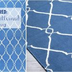 FOR THE HOME: blue patterned rug