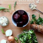RECIPE: mixed salad with beetroot & feta