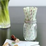 LOVELY THINGS: striped straws & monograms