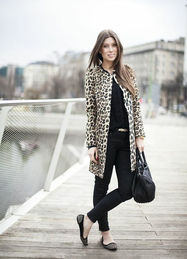 OUTFIT: that leopard coat