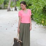 OUTFIT: neon & olive
