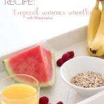 RECIPE: summer smoothie with watermelon
