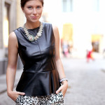 OUTFIT: leopard & leather