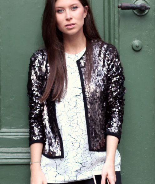 OUTFIT: sequins & stones