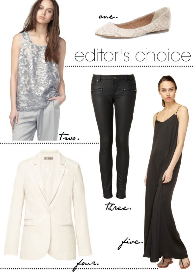 CRAVINGS: editor's choice with HALLHUBER