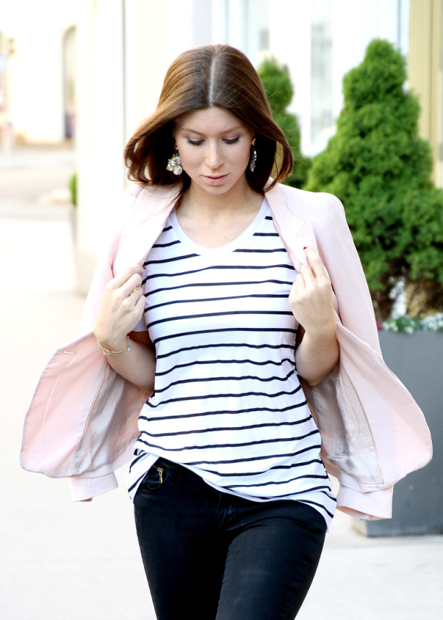 OUTFIT: hooked on stripes
