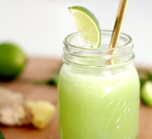 green cleansing detox juice