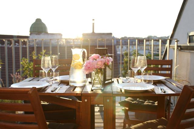 FOR THE HOME: al fresco dining