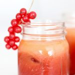 RECIPE: really red juice with watermelon & beetroot