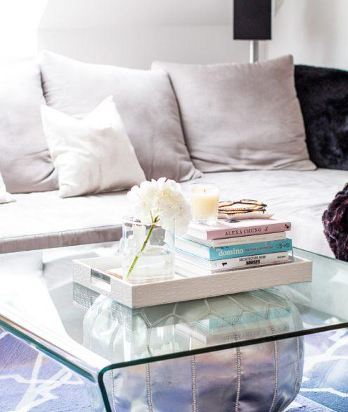 coffee table decor - Bikinis & Passports