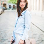 OUTFIT: the perfect pinstripe shirt