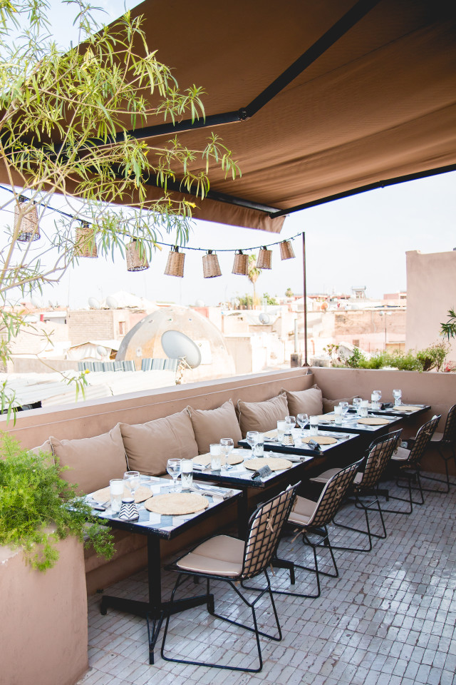 Dinner at NOMAD Marrakech | Bikinis & Passports