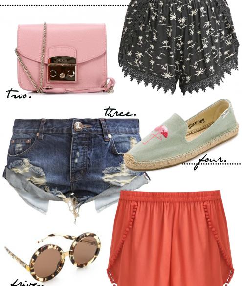 CRAVINGS: shorts for Summer | Bikinis & Passports
