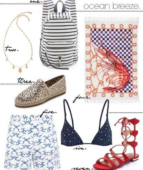 Ocean Breeze maritime Summer cravings | Bikinis & Passports