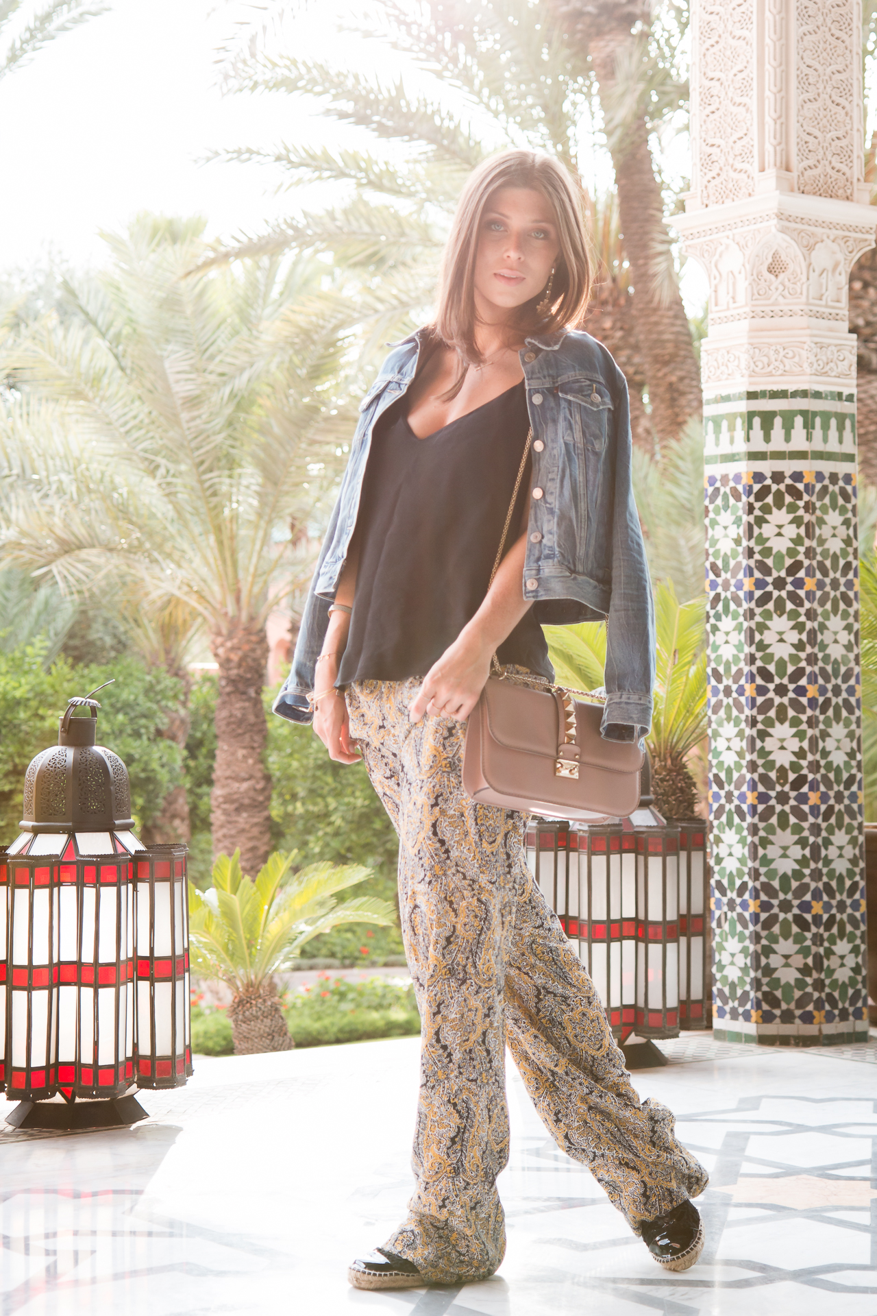 OUTFIT: palms & tiles