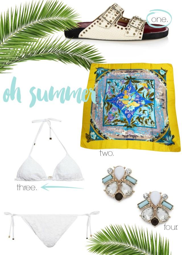 Cravings: Summer Vibes | Bikinis & Passports