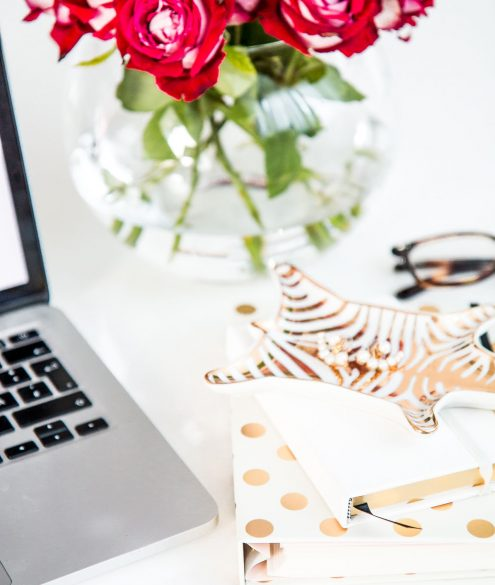 back to school - desk accessories by Kate Spade | Bikinis & Passports