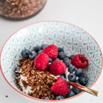 RECIPE: healthy homemade granola