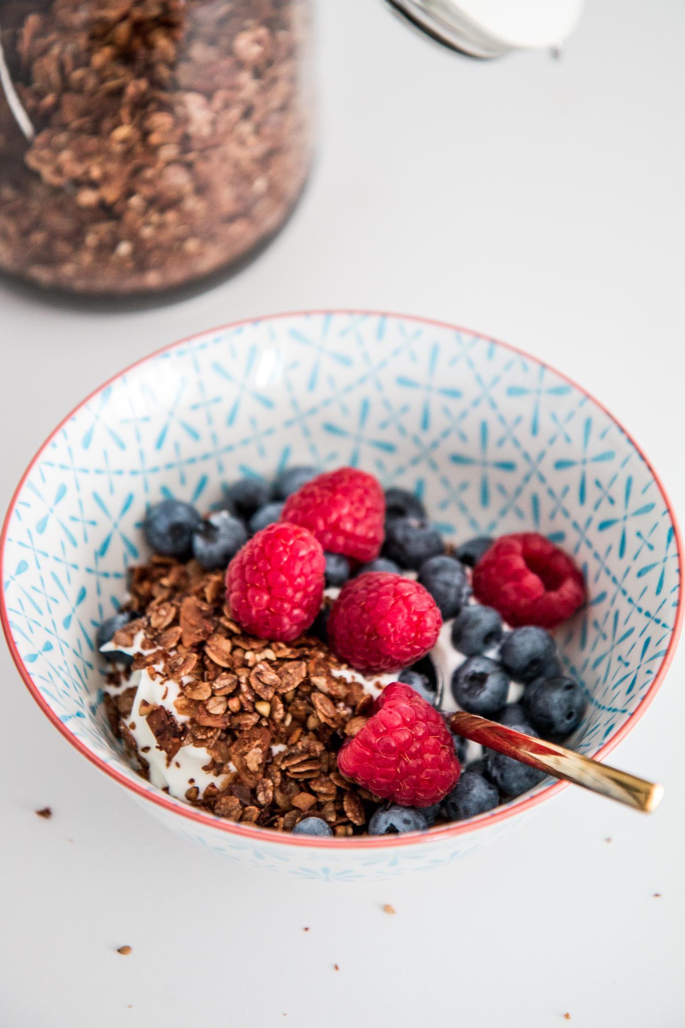 RECIPE: healthy homemade granola