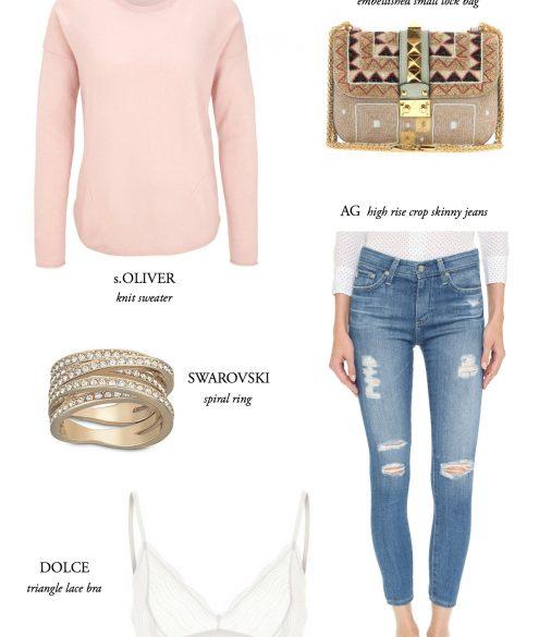 Cravings: High Waisted Skinny Jeans | Bikinis & Passports