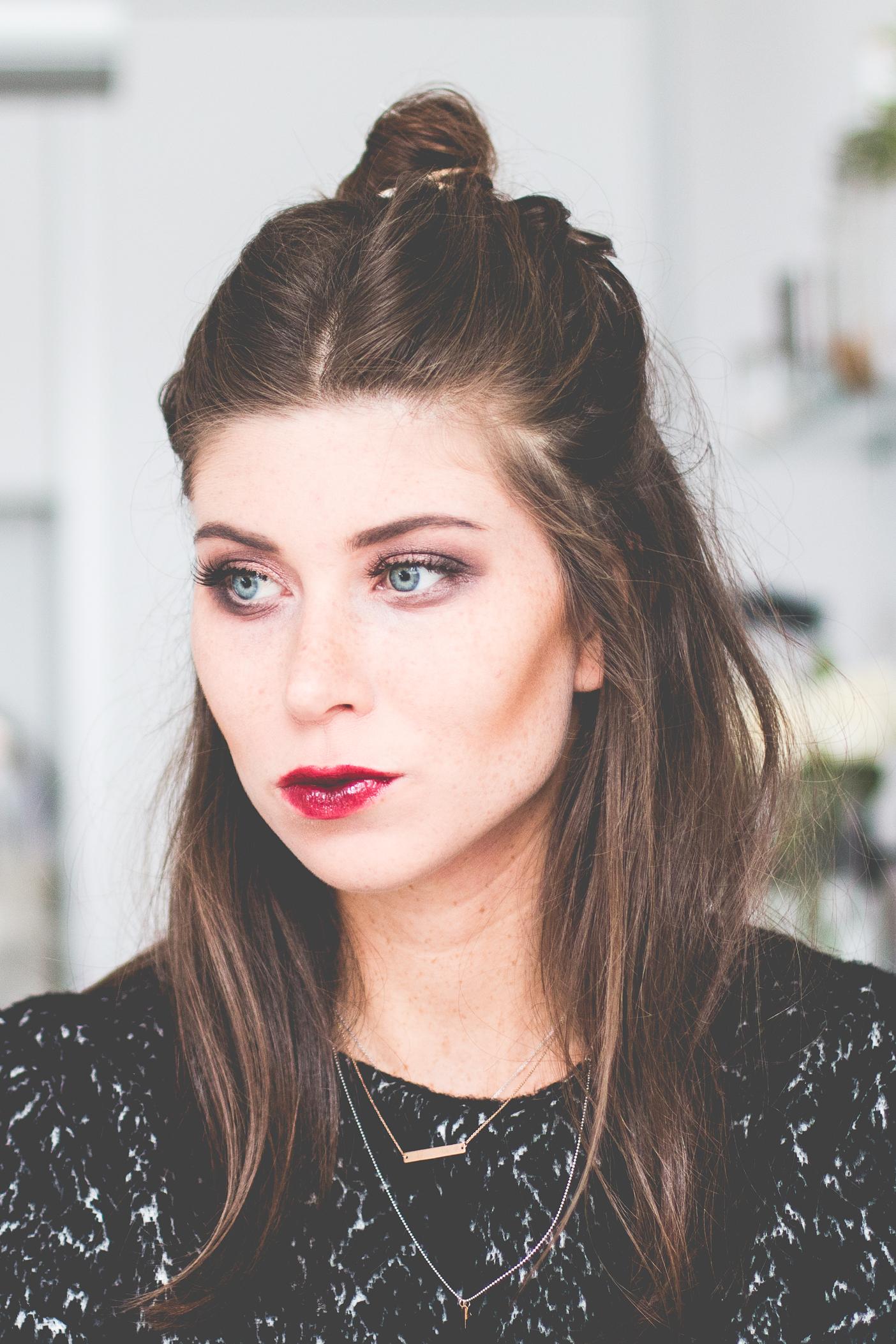 BOO! vampire-inspired halloween make-up