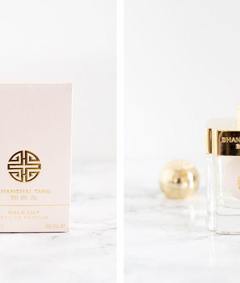 "Advent Calendar Day 13: Shanghai Tang ""Gold Lily"" perfume | Bikinis & Passports"