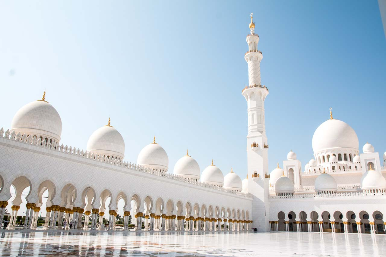 Postcards from Abu Dhabi