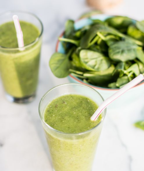 Green Detox Smoothie Recipe | Bikinis & Passports