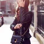 OUTFIT: black leather jacket
