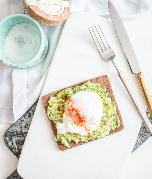 RECIPE: poached egg on avocado bread | Bikinis & Passports