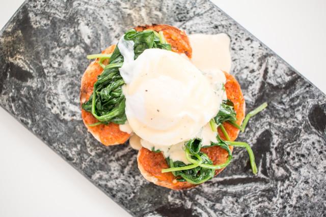 Eggs Florentine Recipe | Bikinis & Passports