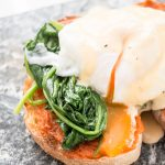 RECIPE: eggs florentine + video tutorial.