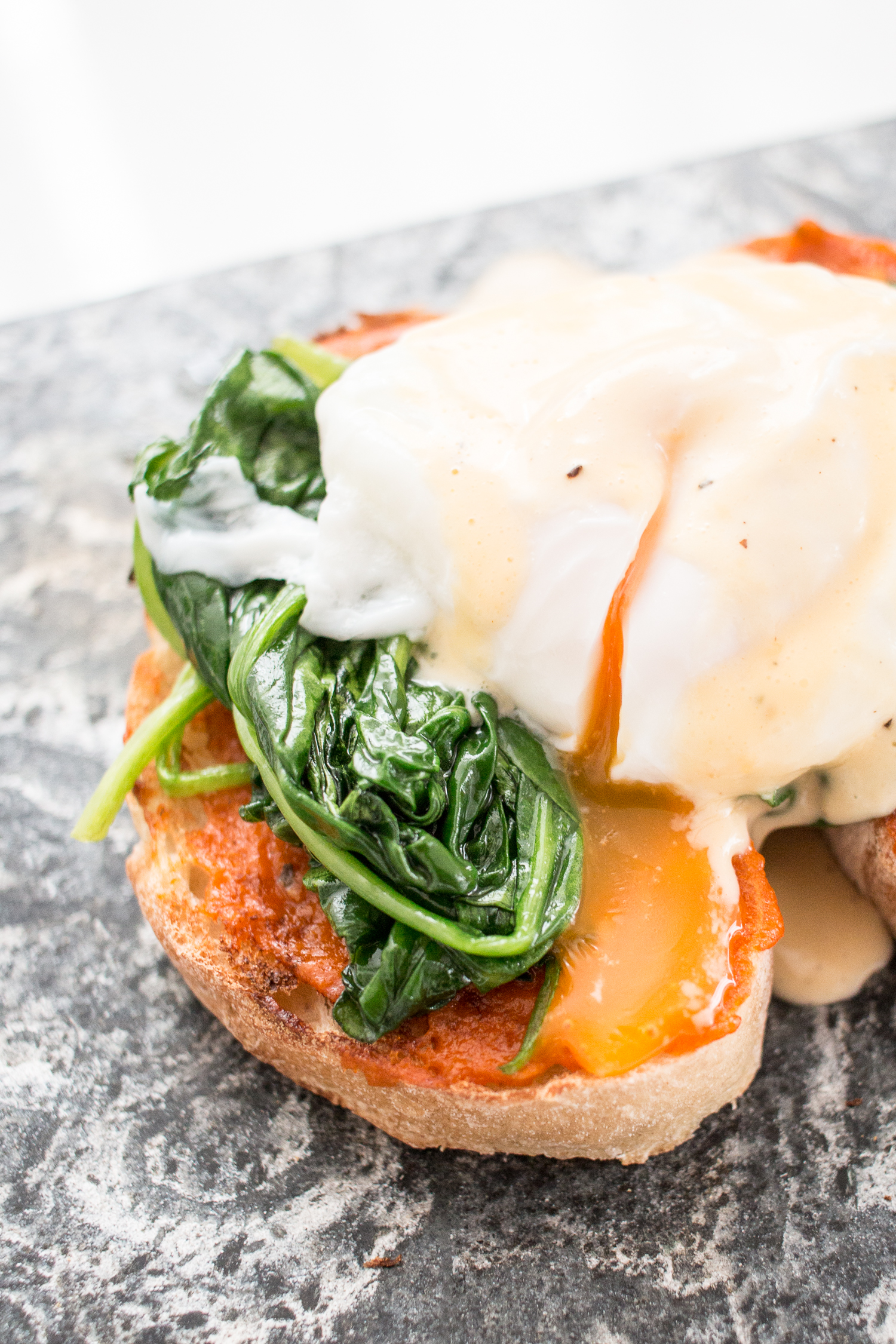 RECIPE: eggs florentine + video tutorial.