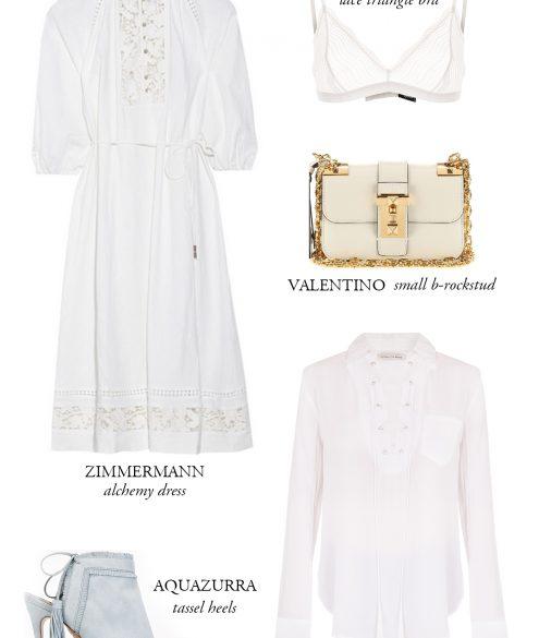 All White Dresscode | Bikinis & Passports