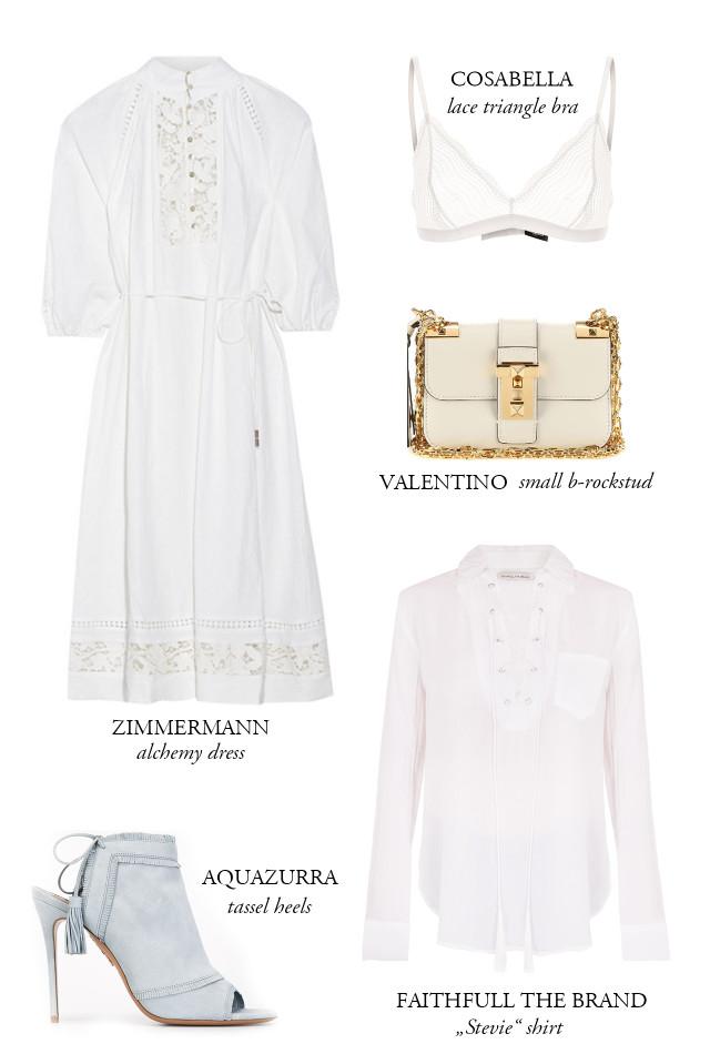 All White Dresscode   Bikinis & Passports
