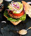 Vegan Quinoa Burger Recipe | Bikinis & Passports