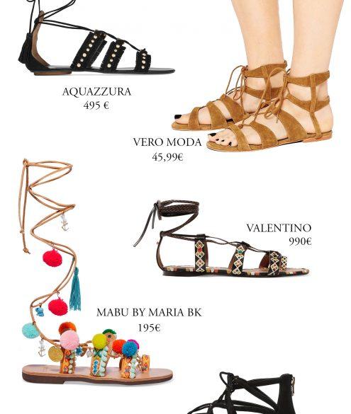 boho sandals for every budget | Bikinis & Passports