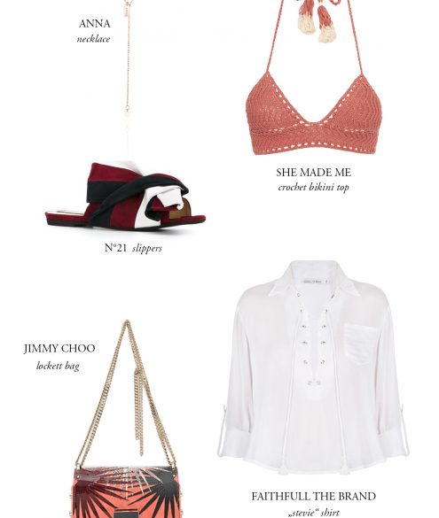 Cravings: Packing for Mallorca | Bikinis & Passports