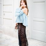 OUTFIT: lace midi skirt