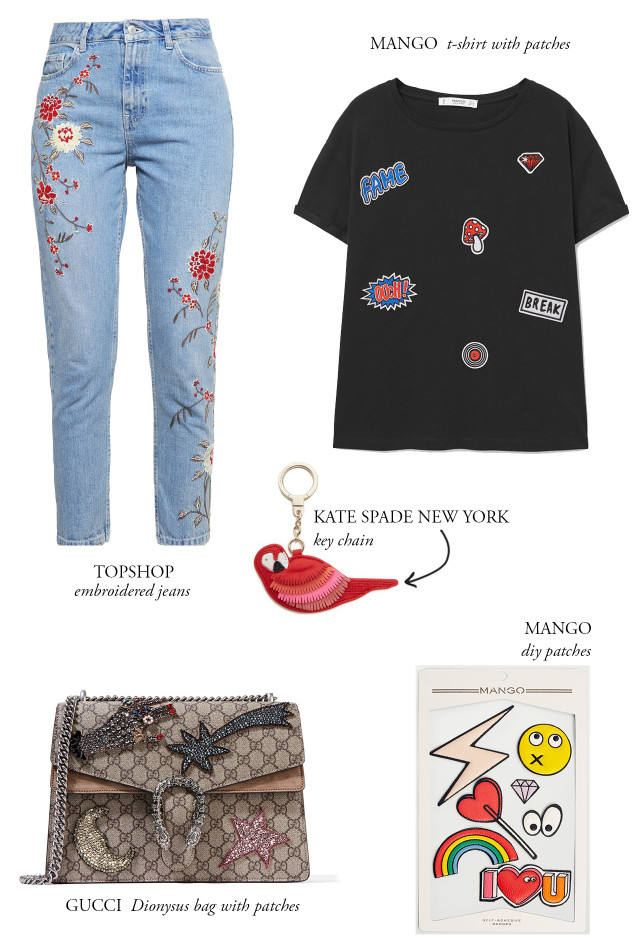 CRAVINGS: patches and pins trend | Bikinis & Passports