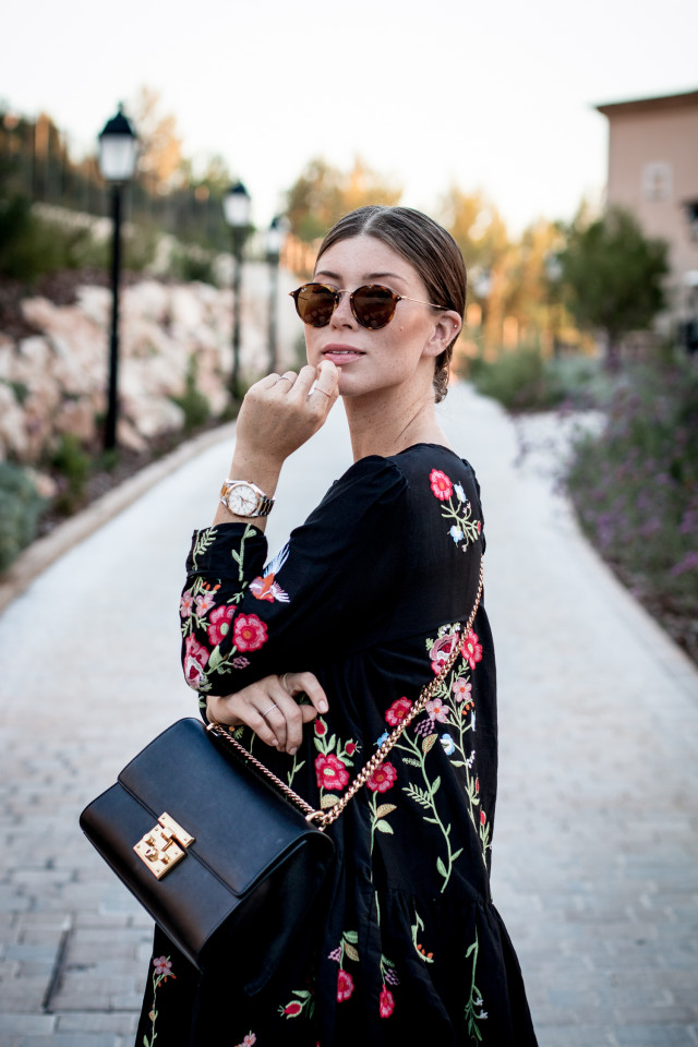 OUTFIT: zara floral dress | Bikinis & Passports