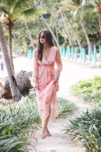 OUTFIT: MAX CO Palmeto dress worn in Thailand | Bikinis & Passports