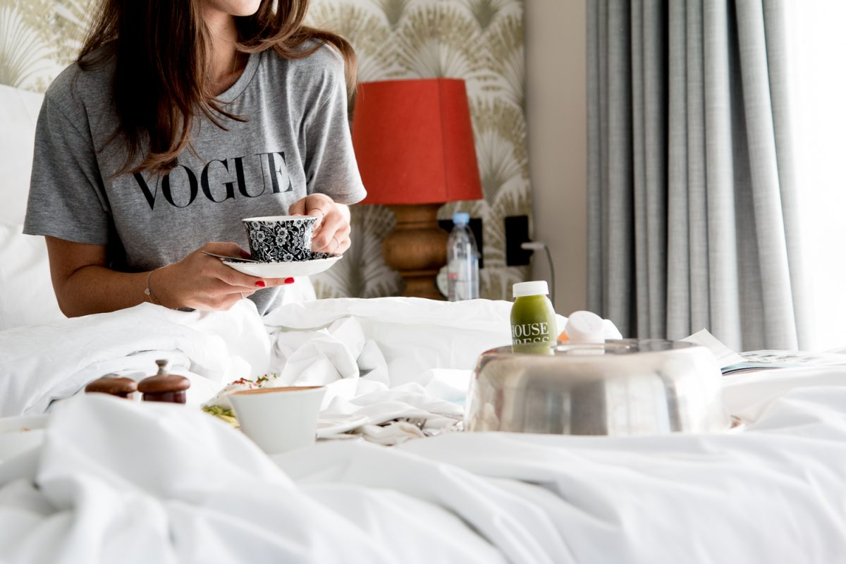coffee in bed - #delonghicoffeemoment | Bikinis & Passports