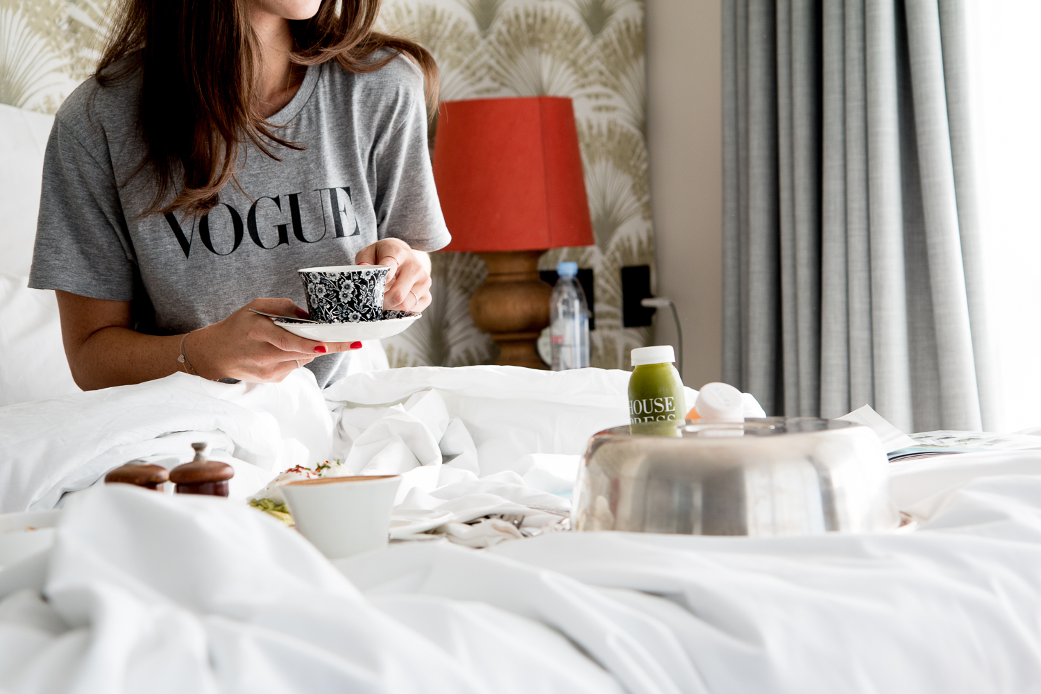 coffee in bed.