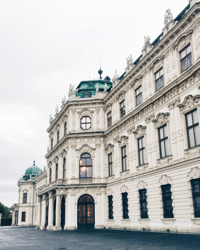 Belvedere Palace Vienna | Bikinis & Passports